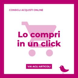 Consigli acquisti online, categoria del Blog